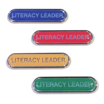 LITERACY LEADER badge